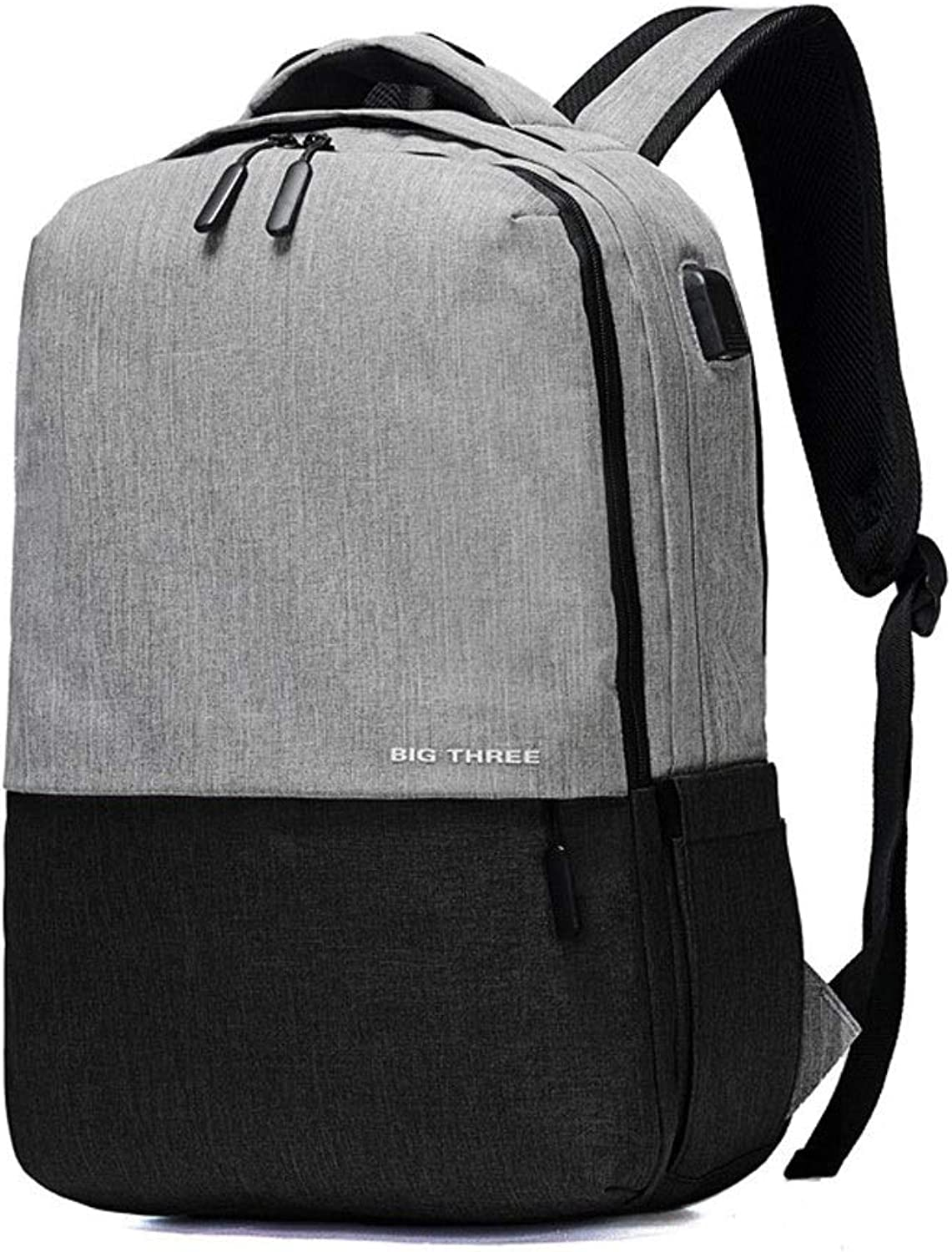 AnSuu Business Backpack Computer Travel Backpack Men's Computer Shoulder Backpack Travel Bag (color   Black)