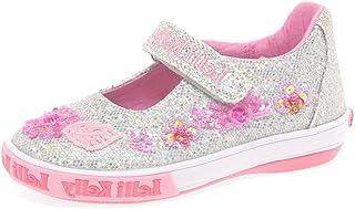 f1b6fb929f59 Lelli Kelly Glitter Daisy Dolly Girls Infant Canvas Shoes