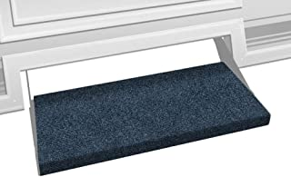 Prest-O-Fit 2-0352 Outrigger RV Step Rug Atlantic Blue 23 In. Wide