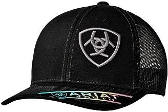 Ariat Brand Signature Logo Grey/Black Youth Snapback Hat - 1518101