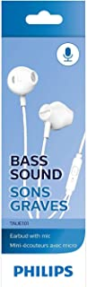 Fones de ouvido Philips com microfone - Branco