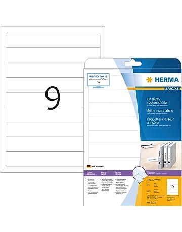 0-200 Etichette inventario in poliestere opaco 64x25 mm prestampate codici a barre e numerazione progressiva