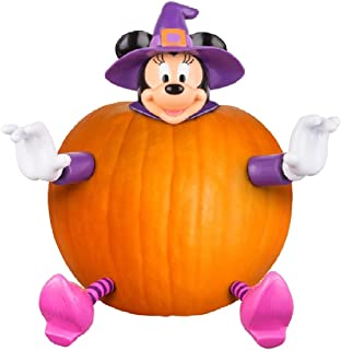 Minnie Mouse Pumpkin Push-Ins - Purple Witch