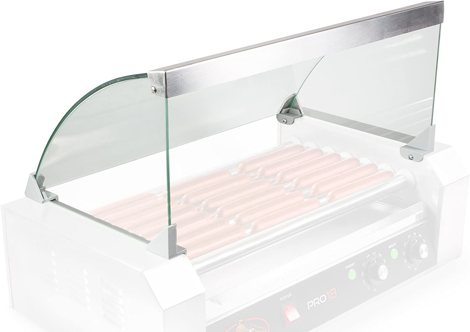 Olde Midway Glass Cover Now on sale ONLY for Hot Max 42% OFF Grill M 7 Roller Cooker Dog