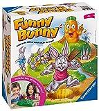 Ravensburger 21330 Funny Bunny Kids Edad 4 años en adelante, un Divertido y rápido Juego Familiar Que Puedes Jugar una y Otra Vez