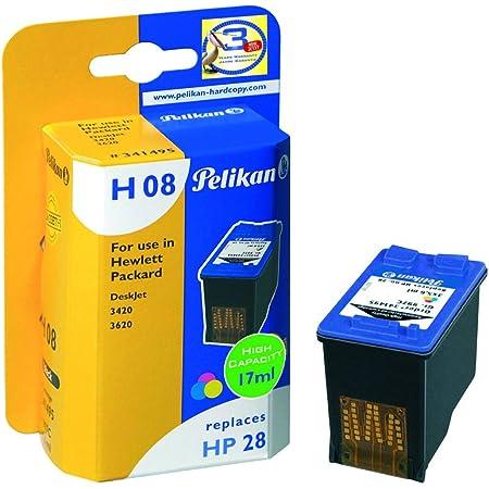 Pelikan Druckerpatrone H44 Ersetzt Hp Cb338ee 3 Color Bürobedarf Schreibwaren