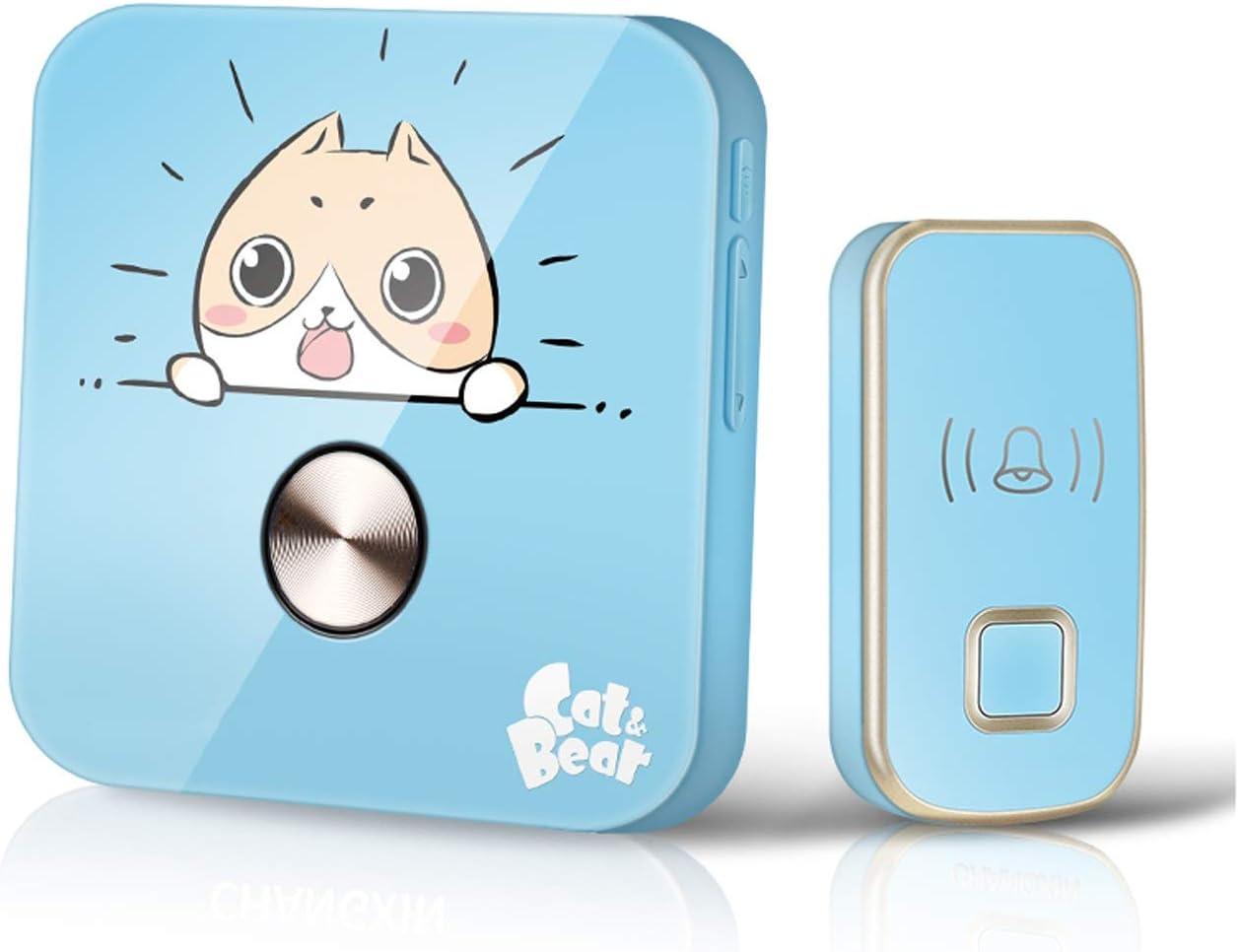 SHIJIE1701AA Door Very popular Bell Creative Doorbell Wireless Home Seattle Mall Smart Doo