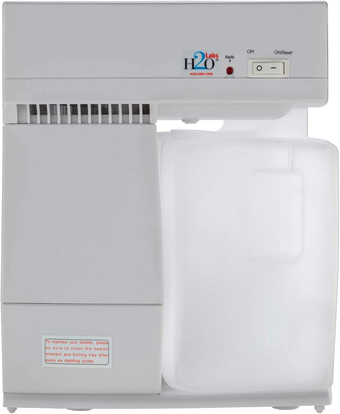 Most Convenient Water Distiller is Re New Indianapolis Mall color with Easy-Fill Lightweight