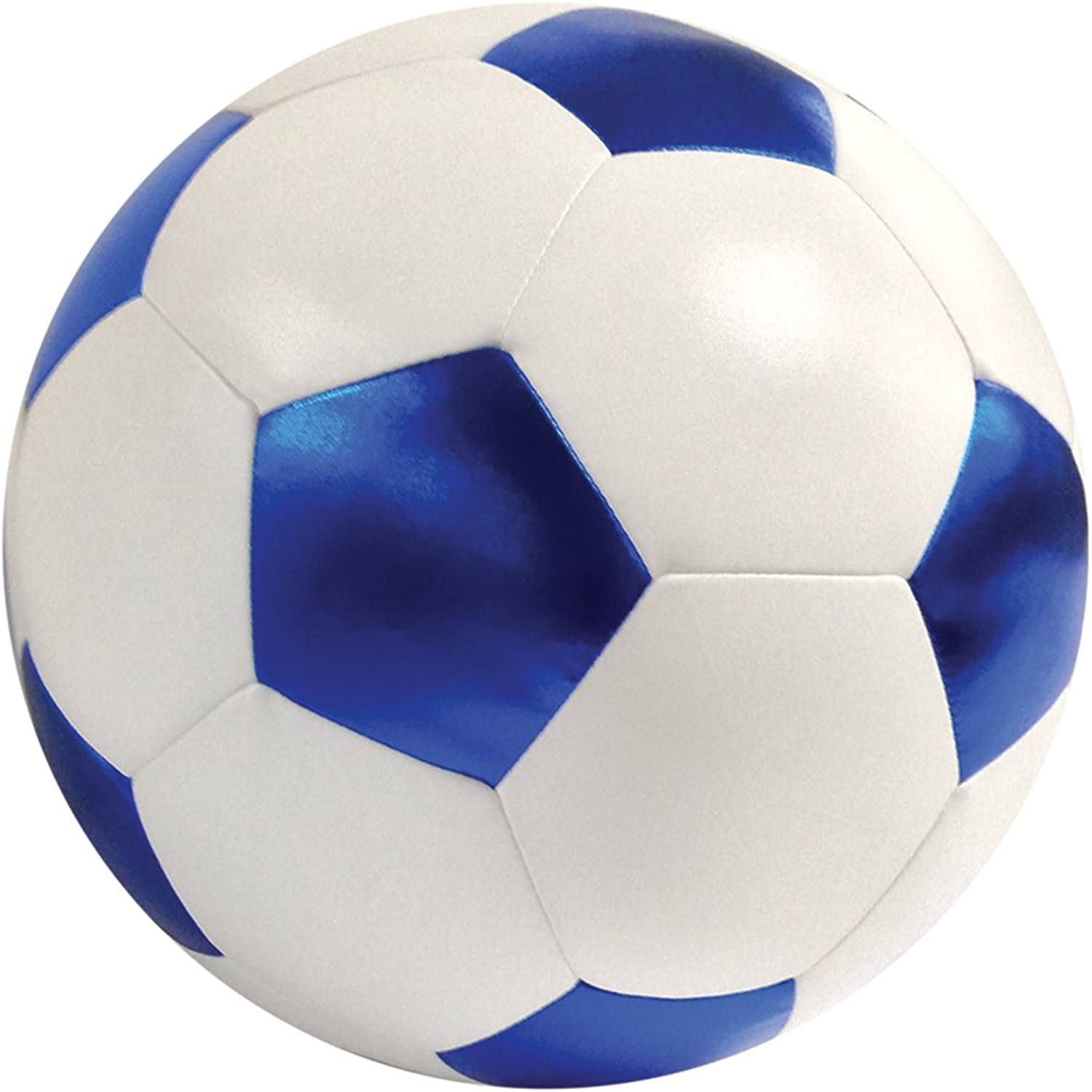 Iscream Game On  Soccer Ball Shaped 13  x 13  Microbead Accent Pillow