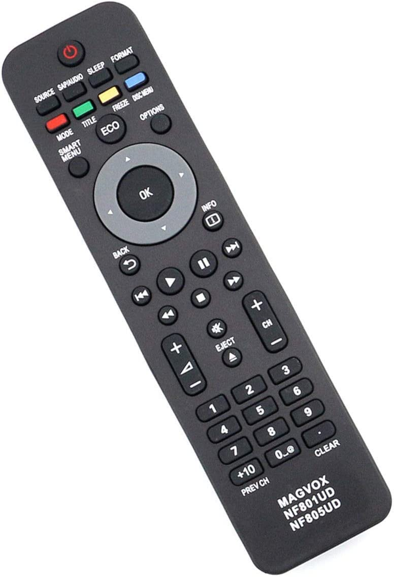 Cheap Replacement Remote Control Max 79% OFF Controller for 3 37MD350B Magnavox TV