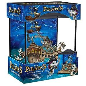 Marina Pirates Aquarium Kit, 17 Litre Glass aquarium with ...