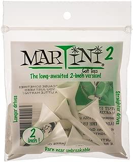 Martini 2 inch Golf Tees - White (6 Tees) …