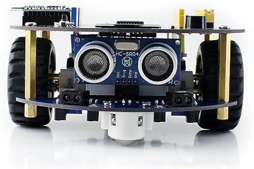 @WENDi AlphaBot2 Robot Building Kit for Arduino (No Arduino Controller) With AlphaBot2-Ar, AlphaBot2-Base, Ultrasonic Sensor etc.