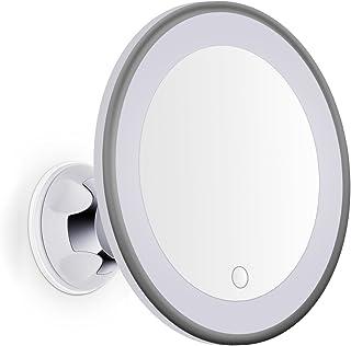 Bornku Espejo Maquillaje con Luz de Aumento 7x B60 LED