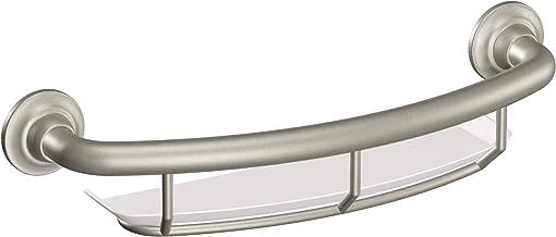 قضيب إمساك مع رف من موين R2356DBN للعناية المنزلية 40.64 سم من النيكل المصقول