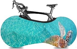 CDyantong Bicycle Wheel Cover, Washable Dustproof Bike Storage Bag, Durable Scratch-Proof Protect Gear Tire Bike Cover - Akumal Beach Turtles Photomount in Riviera Maya of Mayan Mexico