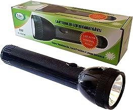 Lanterna Recarregável 1 Led 8W Foco Fixo Com Cabo AC