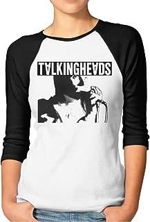 Elio Talking Heads Women's 3/4 Sleeve Raglan Baseball Tshirt