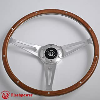Best mg wooden steering wheel Reviews