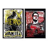 Batman v Superman Plakat A1 2er Sets / 1+2
