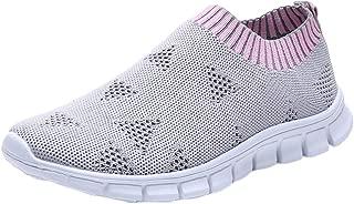Oasisocean Sneakers Women's Athletic Walking Sock Shoes Lightweight Casual Mesh-Comfortable Work Sneakers for Women