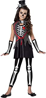 Skeleton Cutie Girls Child Costume