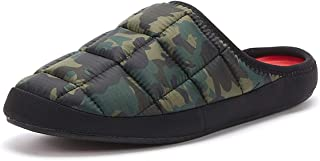 Coma Toes Tokyoes Mens Green Camo Slippers