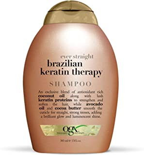 OGX, Shampoo, Ever Straightening+ Brazilian Keratin Smooth, 385ml