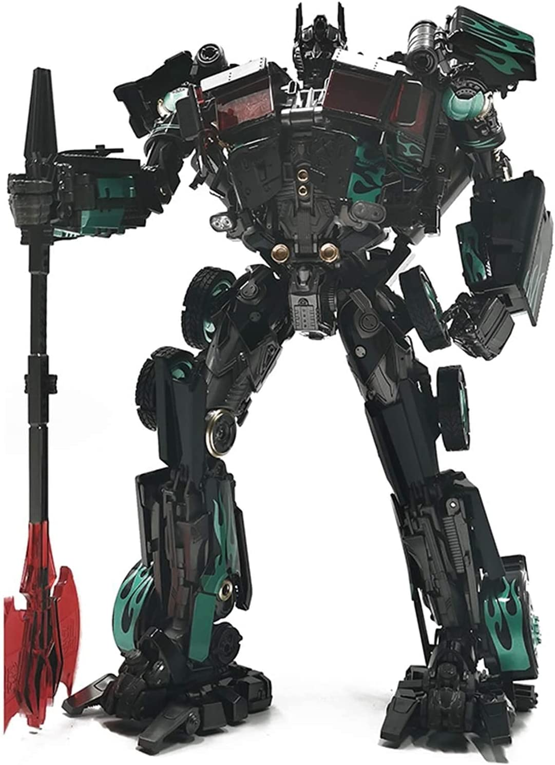 RSVPhandcrafted Transformer Toys Black Mamba Ki Over item handling Online limited product Deformation Toy