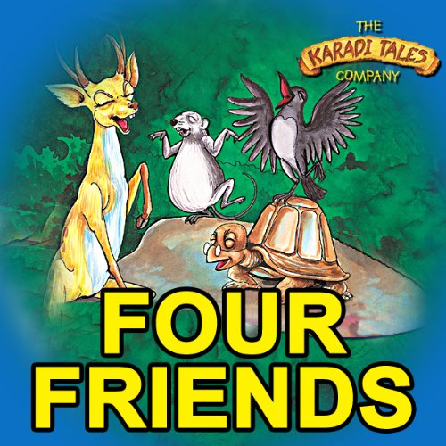 The Four Friends audiobook cover art