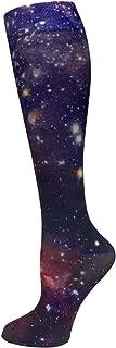 Prestige Medical 12 Inch Soft Compression Socks, Space, 2 Count