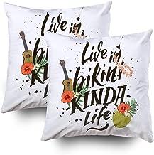 Best a bikini kinda life pillow Reviews