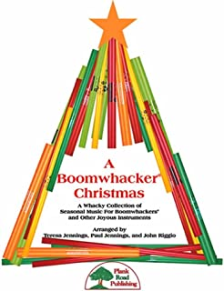 A Boomwhacker Christmas - A Whacky Collection Of Seasonal Music For Boomwhackers And Other Joyous Instruments - Kit with CD