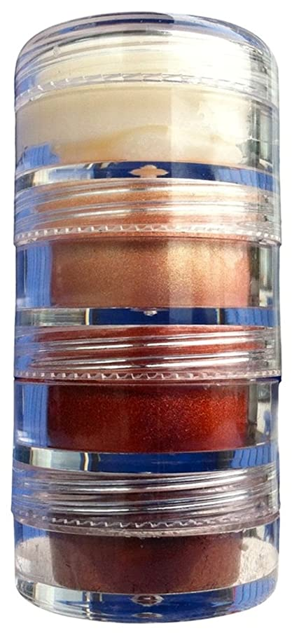 Conscious Cosmetics - 3-In-1 Lip Gloss Mix & Eye Shadow Mica Stacker