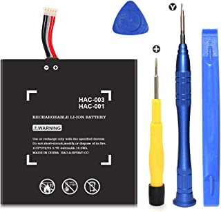 HAC-003 Battery Replacement for Switch Game Console HAC-001 Internal Upgrade 4400mAh Battery with Repair Tool Kit