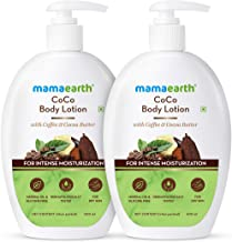 Mamaearth CoCo Body Lotion For Dry Skin - Pack of 2 (400 ml * 2)