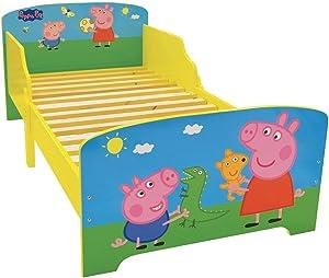 FUN HOUSE 712843Peppa Pig Letto per Bambini in MDF 144x 77x 59cm