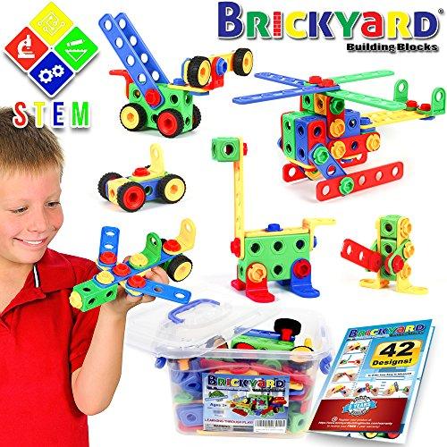 163 Piece STEM Toys Kit,...