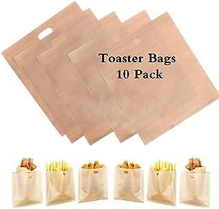 10 paquetes de bolsas de pan tostado para reutilizar, ideal