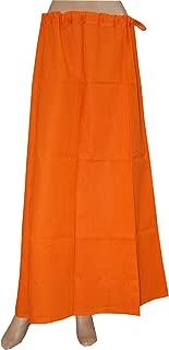 Cotton Petticoat Underskirt Indian Lining for Sari