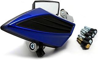 (maxima★select) バイクミラー カスタム STミラー 左右セット 汎用 変換 アダプター 10mm M10 8mm M8 正ネジ 逆ネジ 付き グロム モンキー ズーマー ドラッグスター マジェスティ カワサキ ホンダ スズキ など
