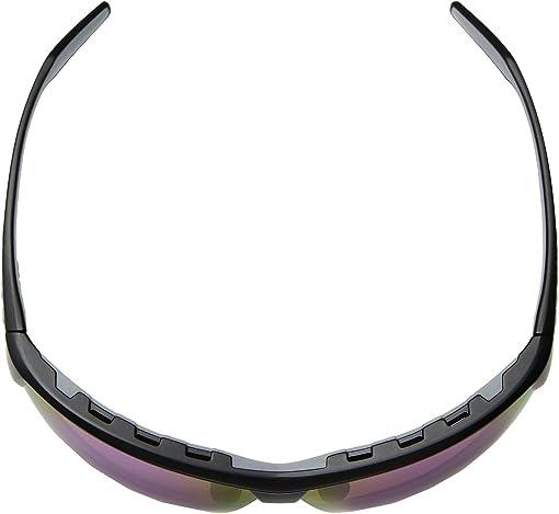 Matte Black/Violet Reflex Polarized Lens