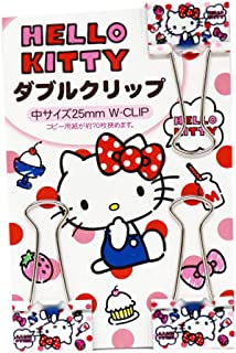 Hello Kitty Binder Paper Clip Set Japan Limited EditionSET of 3