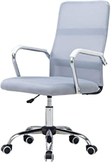 Las sillas de Escritorio Giratorio, Silla del Ordenador Personal Giratorio del Asiento elevable del Respaldo del sillón de Oficina Silla giratoria Silla de Rodillas