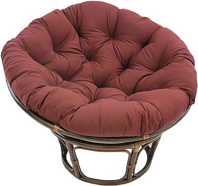 Superb Amazon Com American Rattan 2 Piece Papasan Chair And Dailytribune Chair Design For Home Dailytribuneorg