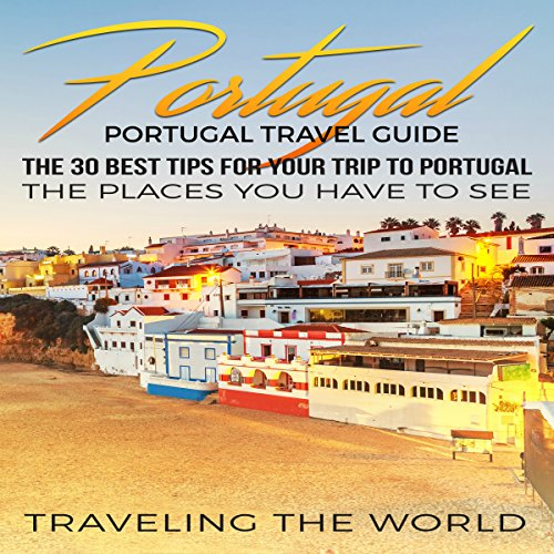 Portugal Travel Guide audiobook cover art