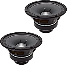 Seismic Audio - CoAx-8-Pair - Pair of 8 Inch Coaxial Speakers 200 Watts RMS - PRO AUDIO PA DJ Replacement - 8 Ohms