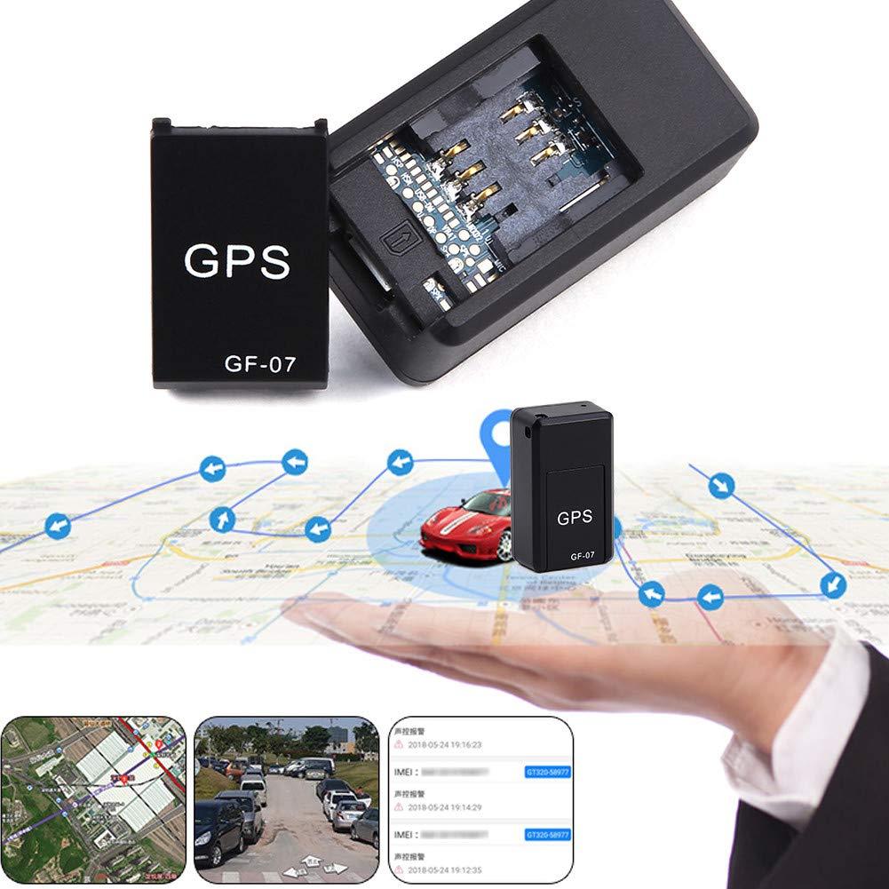 Mini GPS Tracker, GF07 localizador vehículo en Tiempo Real – Localizador GPS antipérdida para Coche Moto Bicicleta, niños, Personas Mayores, Animales domésticos: Amazon.es: Hogar
