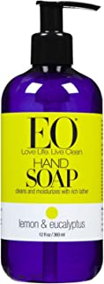 EO Products Liquid Hand Soap - Lemon & Eucalyptus - 12 oz