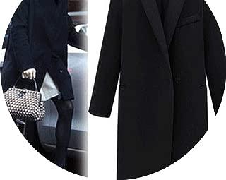 Coat Women Warm Wool Coat Long Women's Cashmere Coat European Jacket Outwear